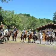 Trekking a cavallo nei  tre parchi